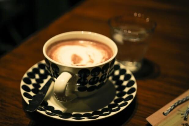 カフェのココア