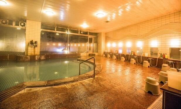 旅館の大浴場