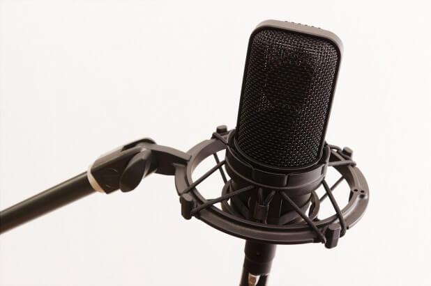 レコーディング用コンデンサーマイク