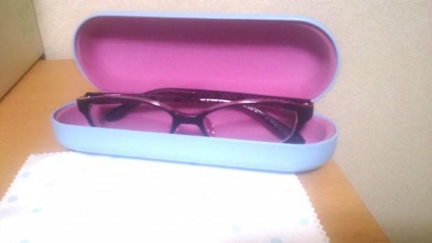 新しい眼鏡 5