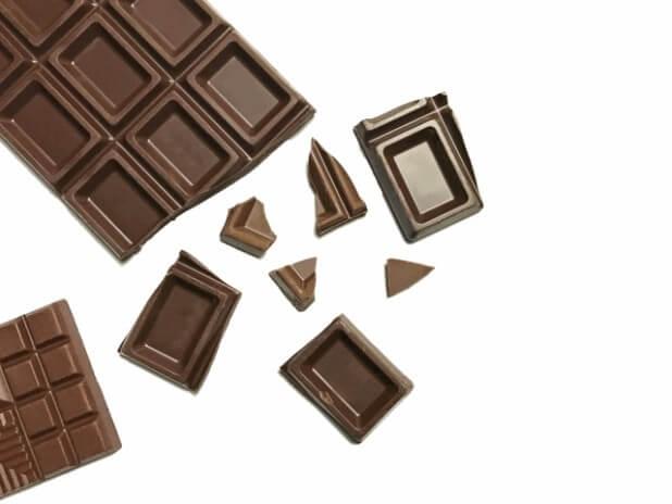 チョコレートのテクスチャ23