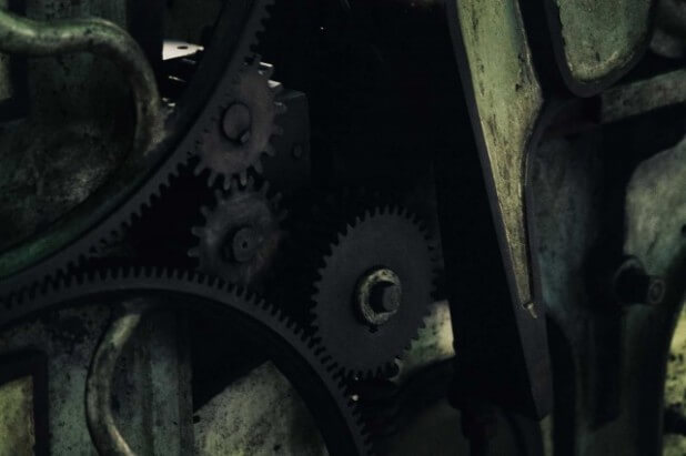 工作機械の歯車
