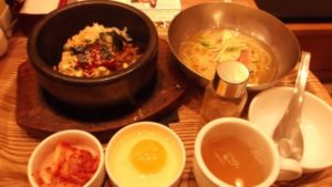 お勧め石焼冷麺1