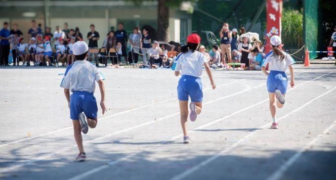 小学校運動会・かけっこ