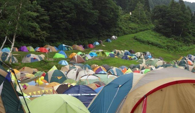 無数のテント1