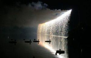 三好池花火ナイアガラ