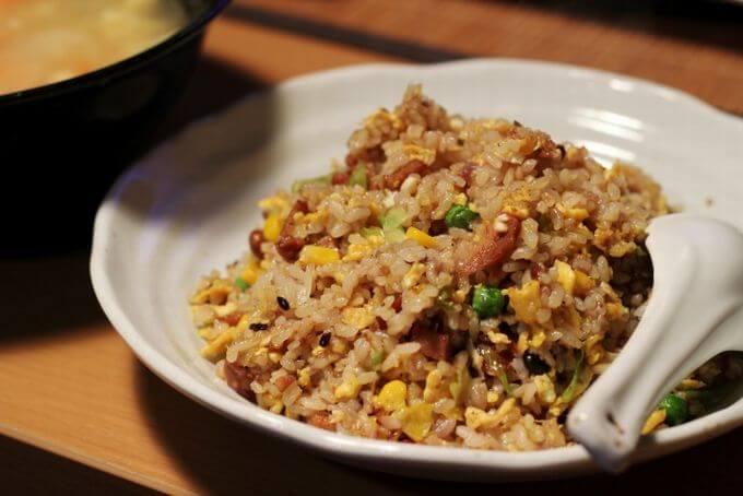 夜食のチャーハン(炒飯)