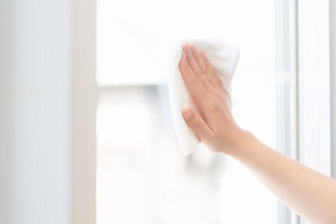 窓拭きキュッキュ